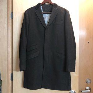 Men's Banana Republic Wool Coat Size Medium